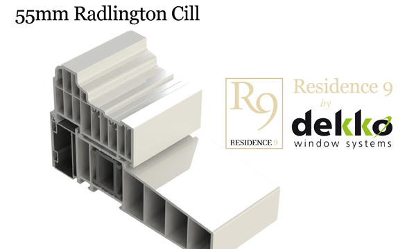 You won't believe it's not timber! Chunky Cill makes R9 by Dekko even more authentic