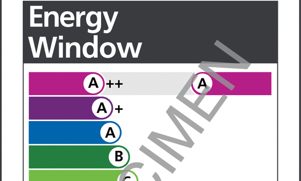 First a rating for energy efficient windows launched for Window energy ratings