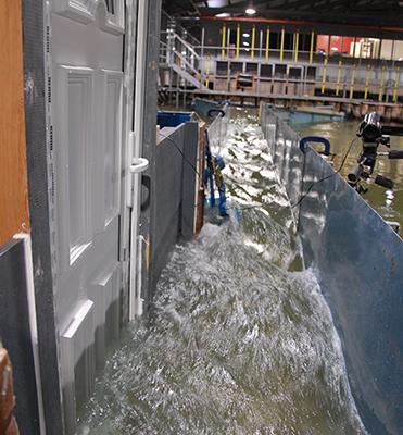 ark flood defence develops flood door in rehau profile window news. Black Bedroom Furniture Sets. Home Design Ideas