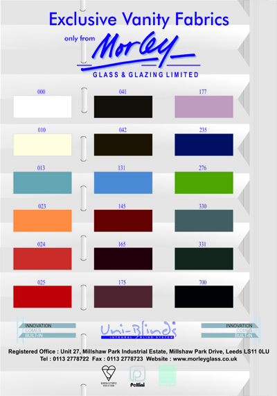 Morley Glass Amp Glazing Launches New Colour Range For