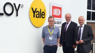 Sternfenster Partnership_Shaun Cannon from Starglaze, Steve Lambert and Andy Evans- Area Sales Managers at Yale