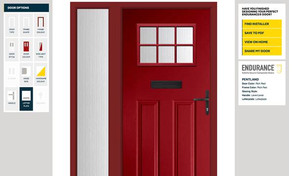 New Improved Endurance Door Designer