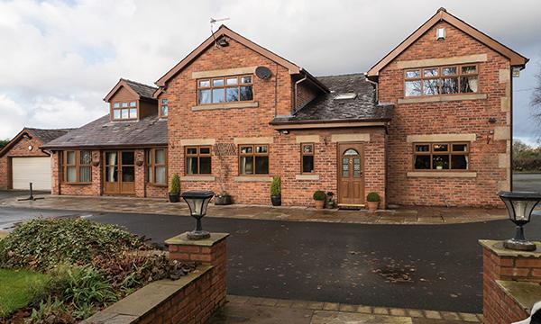 NV Grosvenor - Fully Sculpured - Windows & Residential Door -  Golden Oak-2
