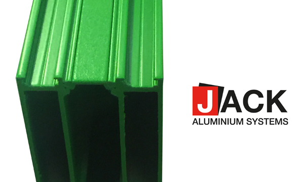 7 day lead times on coloured profile from Jack Aluminium