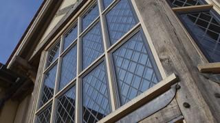 Bronze casement windows