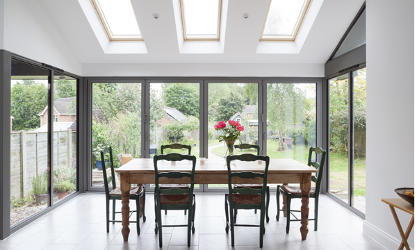 Mercury Glazing bifold door