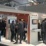 BMA258 A busy Orgadata stand at BAU showing the LogiKal software system