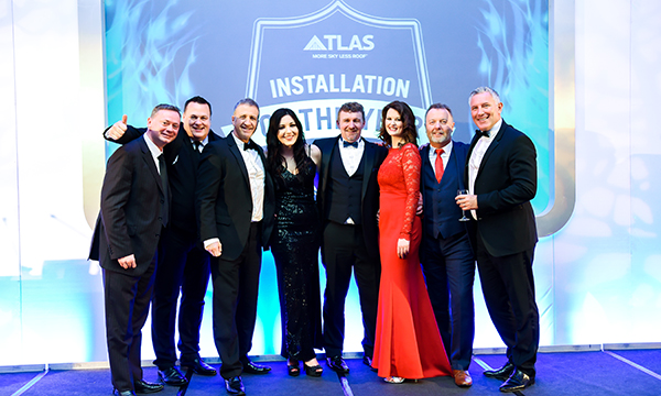 2. The Atlas team from l to r - Kevin Pearce, Mark Watson, Steve Roberts, Jess Bailey, John Jones, Claire Miller, Jeff Cowley, Gareth Thomas