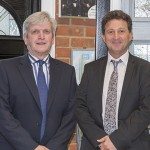 Norman Hornigold (left) and John Savage (right) |window news