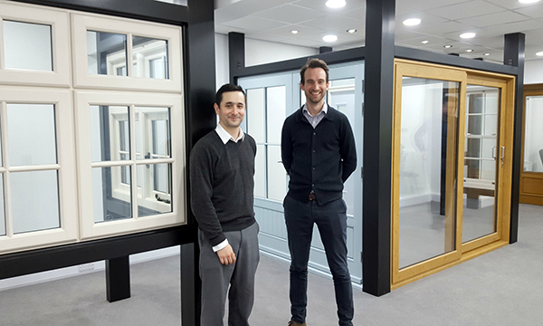 PR120 - Mark Suaznabar, uPVC compliance and quality manager (left) and P...