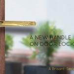 1. A new handle on door locking sml