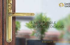 1. A new handle on door locking sml