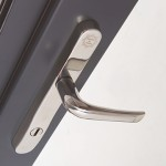 MILA316 Mila's new SupaSecure door handle is the latest addiiton to its popular Supa stainless steel range
