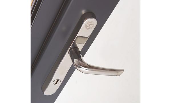MILA316 Mila's new SupaSecure door handle is the latest addiiton to its popular Supa stainless steel range