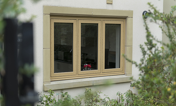 Sternfenster sitting flush with high quality window for Sitting window design