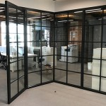 Jack Aluminium used for office partitions at Fred Perry