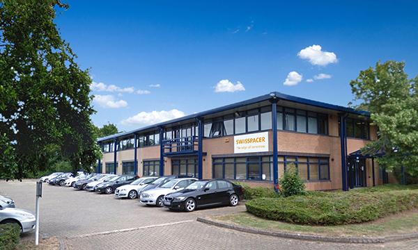 SWISSPACER's new UK HQ, Bradbourne Drive, Milton Keynes