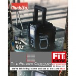 TWC197 The Window Company is giving fitters the chance to win an onsite radio every day on stand M33 at the FIT Show