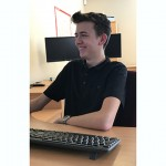 BMA265 Jack Antosch has joined BM Aluminium as a trainee software technician