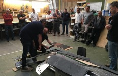 Equinox  Roof Training at Frame Fast UK PRINT