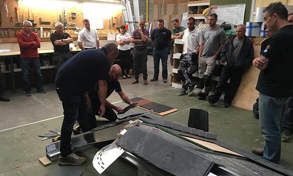 Equinox  Roof Training at Frame Fast UK PRINT