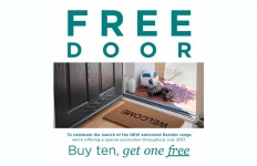 Residor most secure GRP door…FREE in July!