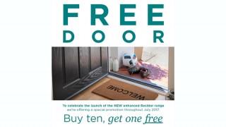 Residor most secure GRP door…FREE in July!