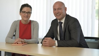 Agnieszka Wronska and Geoff Davis