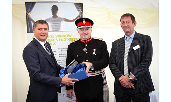 150-Gwain Paterson (LEFT) Her Majesty's Lord Lieutenant of Greater Manch...