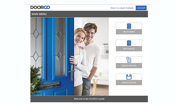 BM278 Business Micros has crerated a bespoke interface for DOORCO customers