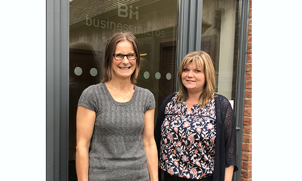 BMA264 Minda Morris (left) and Hannah McGeary have joined BM Aluminium, strengthening its finance team