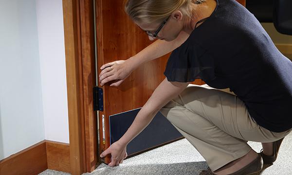 Fire Door Inspector 2. Credit Lorient