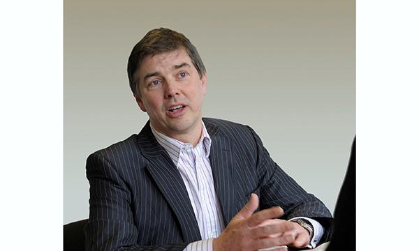 Managing Director Martin Dickie