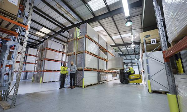 Warehouse resize
