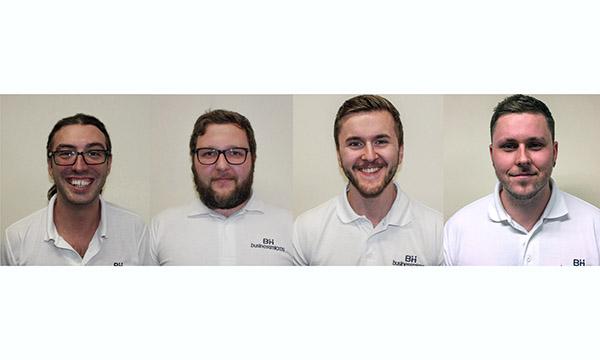 BM279 L - R Luke, Paul Rothwell, Dean and Paul Fairbrother