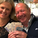 Claire & Shane Howells, Glazerite Race Day 2017