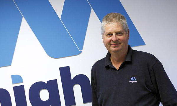 David Lambert, Mighton Warehouse Manager