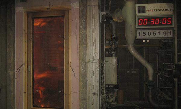 Fire Door Test : Fire door training from bluesky certification at cambridge