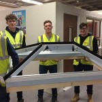 West Suffolk College apprentices