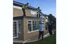 LEKA Roof installation Modplan