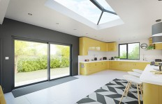 Stratus grey interior with WarmCore patio