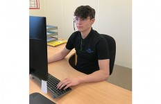 BMA271 Jack Taylor is the newest trainee at BM Aluminium copy
