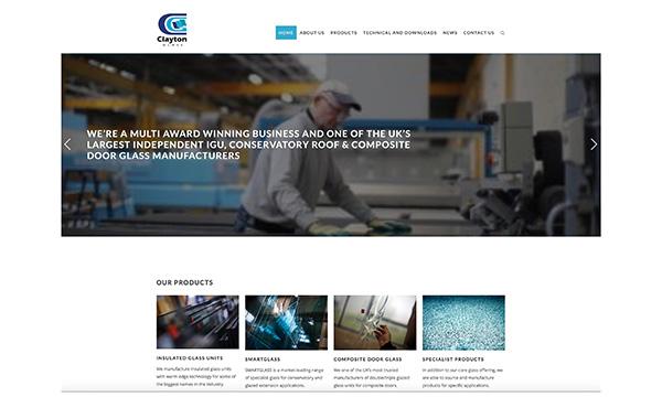 New Website Delivered For Clayton Glass