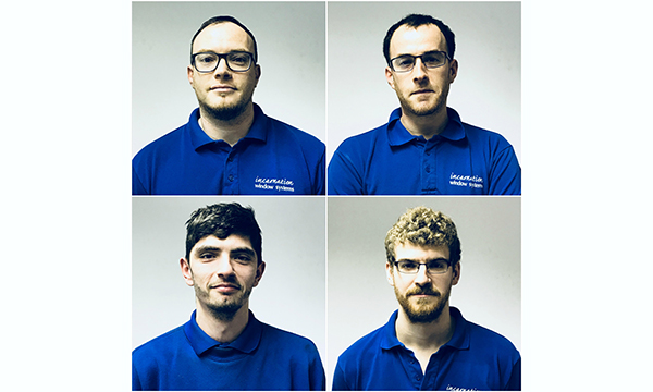 PR012 - The Fab Four - James and Jon Savory (Top), Ben Sturgess (Bottom Left) and Scott Fairley (Bottom Right)