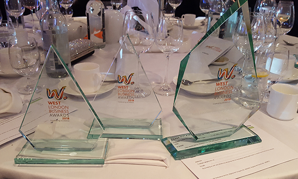 Everglade Windows is a Triple West London Business Award Winner