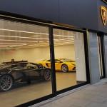 Top Gear for Lamborghini Showroom