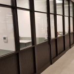 IDF Aluminium used Jack Aluminium's JD47 System for The Office Group refurbishment