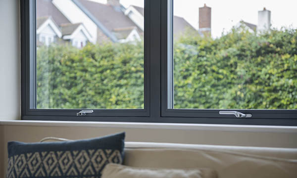 Residence 7s windows from Tradelink Window Solutions have a seamless welded finish