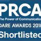 DARE18 Shortlisted Badge