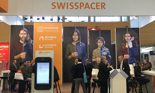 SWISSPACERs impressive stand at Fensterbau Frontale